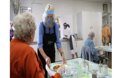 HRH Duchess of Cornwall visits RVS Lunch Club