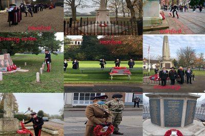 Hertfordshire Lieutenancy Remembrance 2020