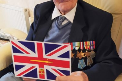 Norman McGlynn MBE Celebrates his 101st Birthday