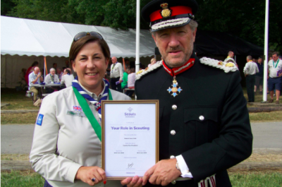 Lord-Lieutenant's Message to Hertfordshire Scouts