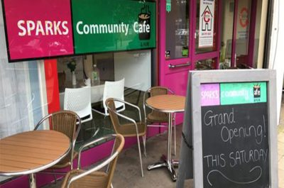 Resolve's SPARKS Community Café Reopens in Hatfield