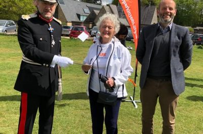 Joyce Cook Walks in aid of Cure Parkinson's