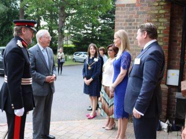 Duke of Gloucester tours and praises Watford charities