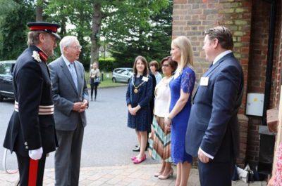 Visit of Duke of Gloucester to Watford