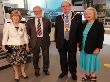 Re-opening of Frogmore Paper Mill