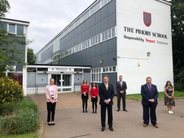 The Priory School wins the LEP £3000 Prize
