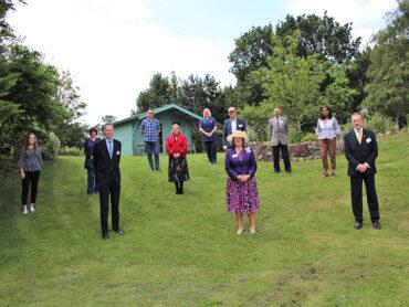 Keech Hospice Ambassadors meet the Care Team