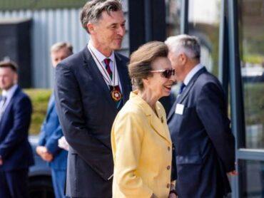 The Princess Royal visits Lintbells in Weston, Hertfordshire