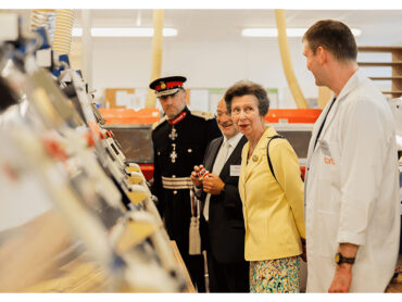 Her Royal Highness The Princess Royal visits OPRO
