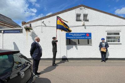 Royal British Legion Rickmansworth Marks 100th Anniversary