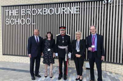 Opening of the new Broxbourne School