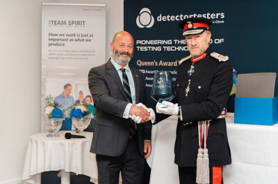 Queen's Award for Enterprise Presented to Climb Products Ltd.