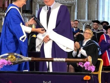 Vice Lord-Lieutenant Richard Beazley honoured with a Doctorate by the University of Hertfordshire