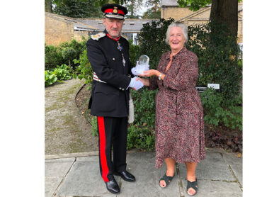 The Lord-Lieutenant Presents Future Living with the Queens Award for Voluntary Service