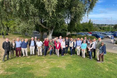 Hertfordshire Lieutenancy Visits Kings Mead Nature Reserve
