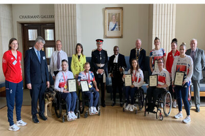 Reception for Hertfordshire's Tokyo Olympians at County Hall