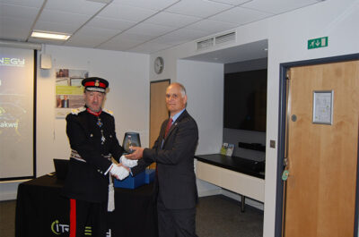 Queen's Award for Enterprise Presented to Itrinegy Ltd
