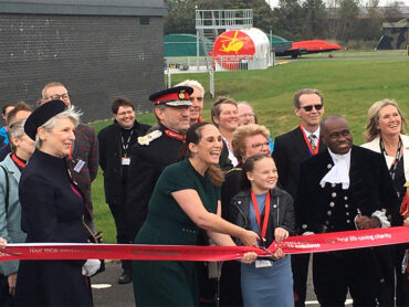 Opening of the new Essex & Herts Air Ambulance Building