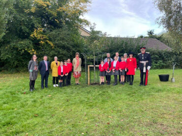 Margaret Wix Primary School Tree Planting for the Queen's Green Canopy