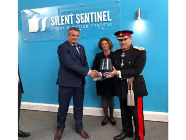 Presentation of the Queen's Award for Enterprise to Silent Sentinel Ltd