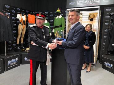 Prop Store Ltd Receiving their Queen's Award for Enterprise
